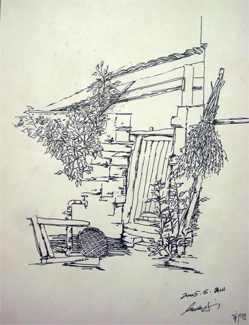 农庄手绘规划图