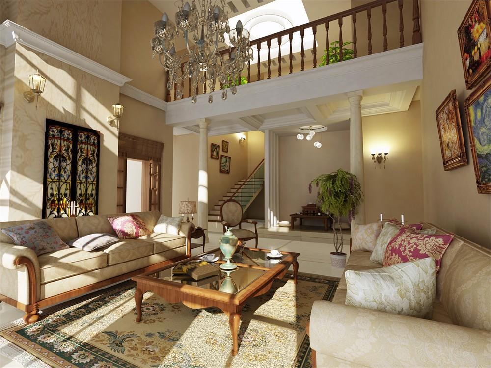 欧式别墅设计效果图