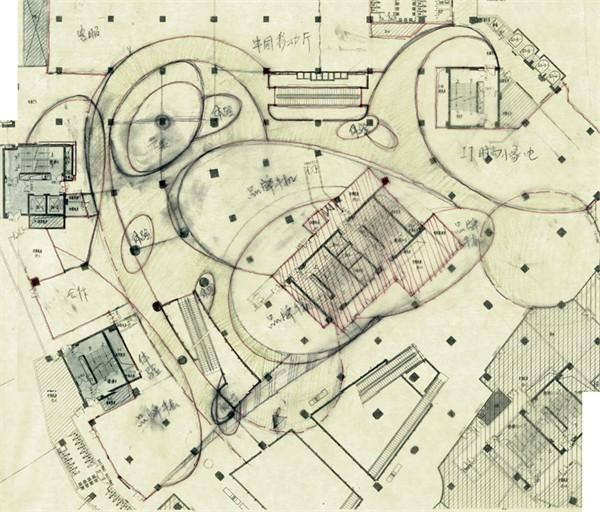 朝阳大悦城科技广场设计说明