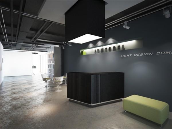 公司前台背景墙设计图