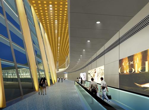 昆明小哨新机场照明设计