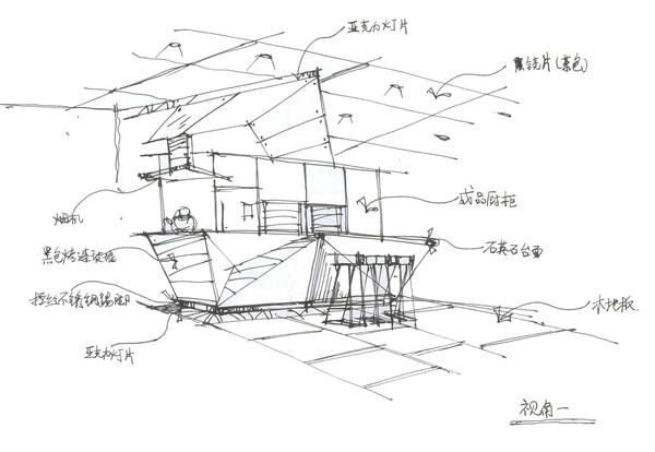 厅吧台平面图_咖啡厅吧台立面图_咖啡厅吧台设计图