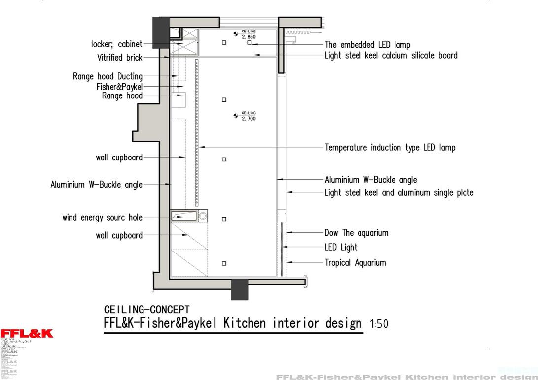 厨房照明电路设计