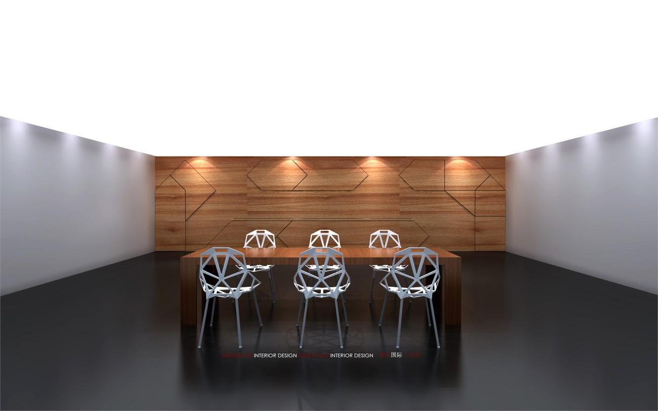吧台空间设计手绘图