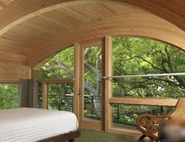 美国独特造型的海湾别墅设计