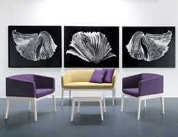 复古休闲椅的创新诠释-Fjola
