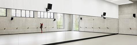 gmp设计的杜塞尔多夫莱茵芭蕾排练厅开幕启用