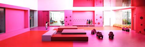 粉红城堡:法国布尔日托所