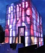 """2010 ZUMTOBEL 奥德堡照明VIP之旅""参观奥德堡照明案例:现代船坞俱乐部Nordwesthaus 照明效果"